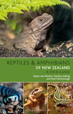 Reptiles and Amphibians of New Zealand cover