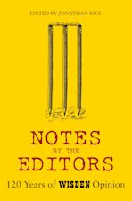 Notes By The Editors cover