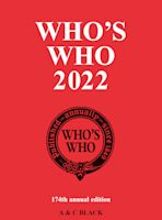 Who's Who 2022 cover