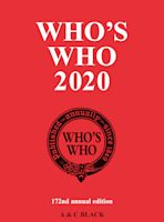 Who's Who 2020 Print and Online Bundle cover