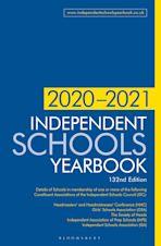 Independent Schools Yearbook 2020-2021 cover