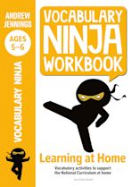 Vocabulary Ninja Workbook for Ages 5-6 cover