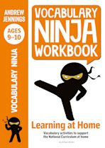 Vocabulary Ninja Workbook for Ages 9-10 cover