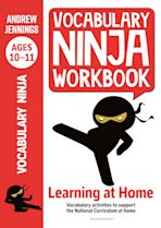 Vocabulary Ninja Workbook for Ages 10-11 cover