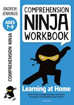 Comprehension Ninja Workbook for Ages 7-8 cover