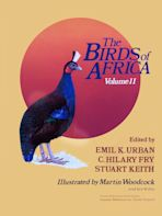 The Birds of Africa: Volume II cover