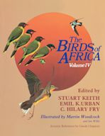 The Birds of Africa: Volume IV cover