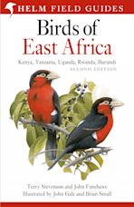 Field Guide to the Birds of East Africa cover