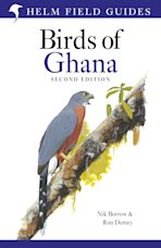 Field Guide to the Birds of Ghana cover