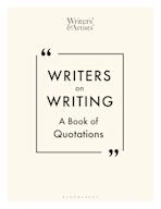 Writers on Writing cover