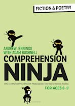 Comprehension Ninja for Ages 8-9: Fiction & Poetry cover