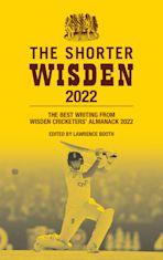 The Shorter Wisden 2022 cover
