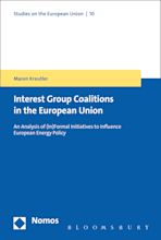 The Formation of Coalitions in the European Union cover