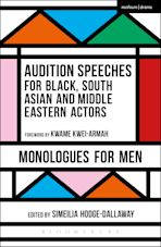 Audition Speeches for Black, South Asian and Middle Eastern Actors: Monologues for Men cover