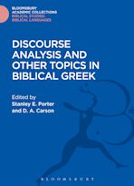 Discourse Analysis and Other Topics in Biblical Greek cover