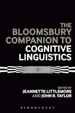 The Bloomsbury Companion to Cognitive Linguistics cover