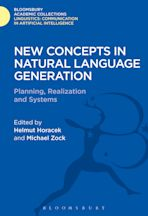 New Concepts in Natural Language Generation cover