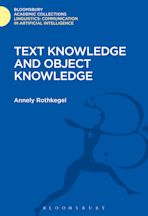 Text Knowledge and Object Knowledge cover
