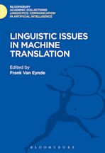 Linguistic Issues in Machine Translation cover