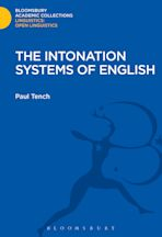 The Intonation Systems of English cover