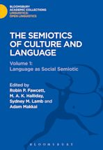 The Semiotics of Culture and Language cover