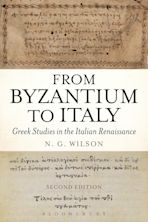From Byzantium to Italy cover