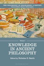 Knowledge in Ancient Philosophy cover