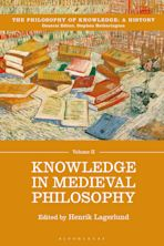 Knowledge in Medieval Philosophy cover