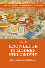 Knowledge in Modern Philosophy cover