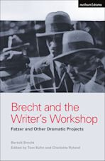 Brecht and the Writer's Workshop cover