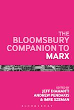 The Bloomsbury Companion to Marx cover