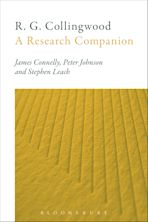 R. G. Collingwood: A Research Companion cover
