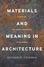 Materials and Meaning in Architecture cover