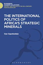 The International Politics of Africa's Strategic Minerals cover