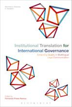Institutional Translation for International Governance cover