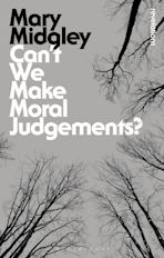 Can't We Make Moral Judgements? cover