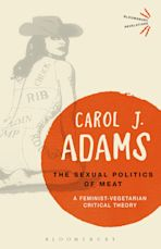 The Sexual Politics of Meat - 25th Anniversary Edition cover