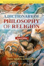 A Dictionary of Philosophy of Religion, Second Edition cover