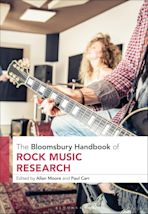 The Bloomsbury Handbook of Rock Music Research cover