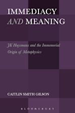 Immediacy and Meaning cover