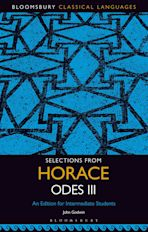Selections from Horace Odes III cover