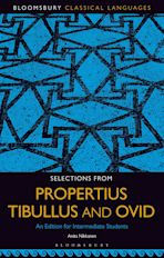 Selections from Propertius, Tibullus and Ovid cover