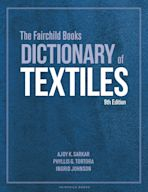 The Fairchild Books Dictionary of Textiles cover