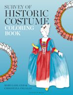 Survey of Historic Costume Coloring Book cover
