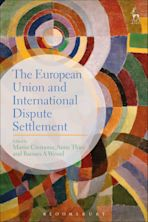 The European Union and International Dispute Settlement cover