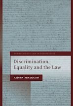 Discrimination, Equality and the Law cover