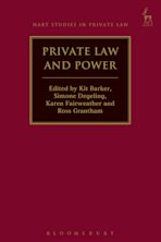Private Law and Power cover