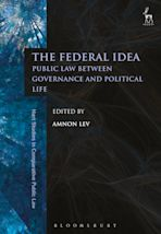 The Federal Idea cover
