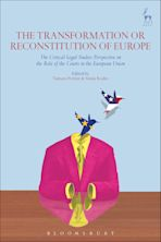 The Transformation or Reconstitution of Europe cover