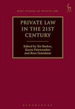 Private Law in the 21st Century cover